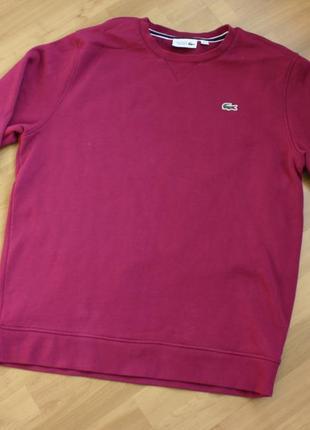 Мужской свитер lacoste sport утепленный размер xl оригинал