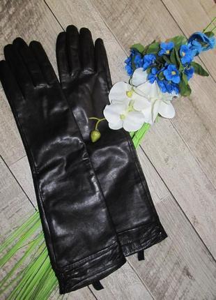 Люкс  перчатки  из кожи nappa р. s-m
