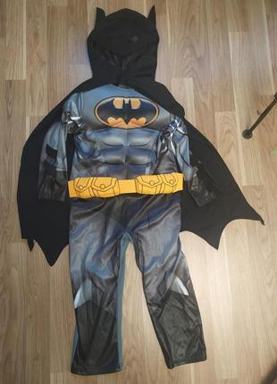 Костюм бэтмен 3-4 года