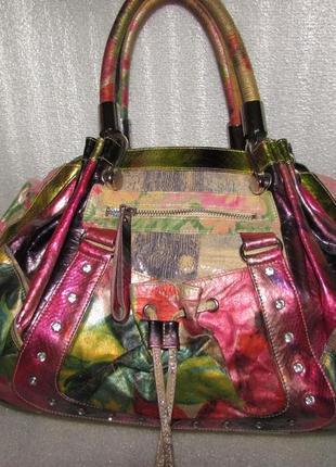 Гламурная эксклюзивная сумка 100% кожа ~juicy couture ~