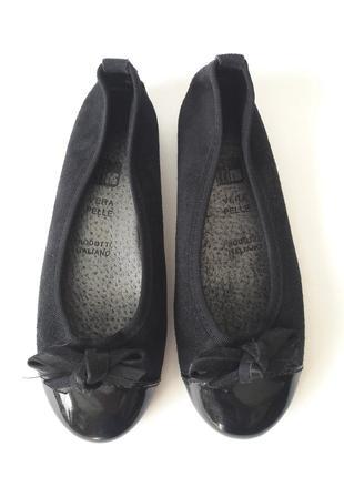 Шикарные балетки туфли италия кожа 33р 21см