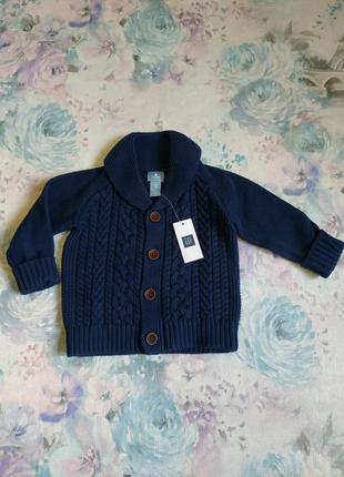 Вязанный кардиган baby gap,свитер, кофта