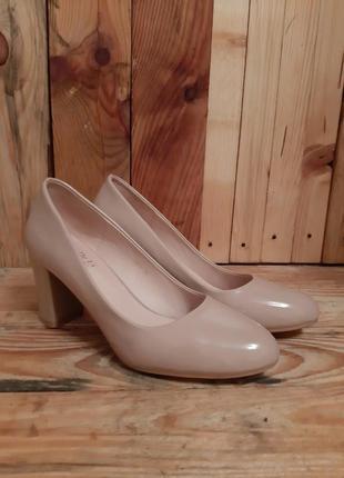 Лаковые туфли,туфлі от mei de li fashion