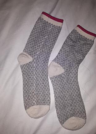 Носки теплые двойные