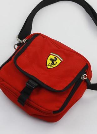 Фирменная сумка мессенджер через плечо