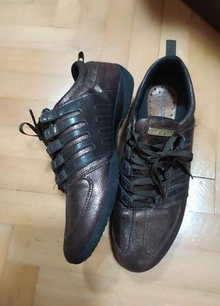 Отличные туфли кроссовки от geox respira,p. 37