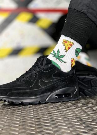 Nike air max 90 vt black мужские кроссовки найк