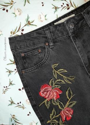 🎁1+1=3 плотные зауженные узкие мом mom джинсы с высокой посадкой topshop, размер 44 - 4610 фото