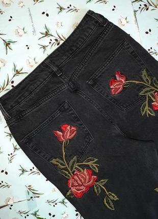 🎁1+1=3 плотные зауженные узкие мом mom джинсы с высокой посадкой topshop, размер 44 - 464 фото