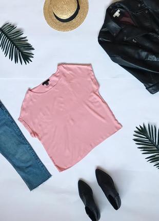 Красивая свободная футболка блуза atmosphere. р-р м
