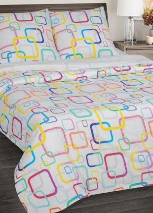 Лабиринт -натуральное постельное белье из поплина