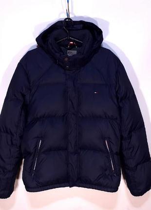 Пуховик tommy hilfiger classic puffer jacket (м) оригинал куртка (46-48)