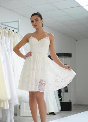 Платье корсет кружево