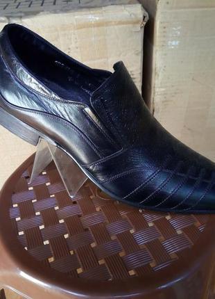 Туфли натуральная кожа, классические, качественные