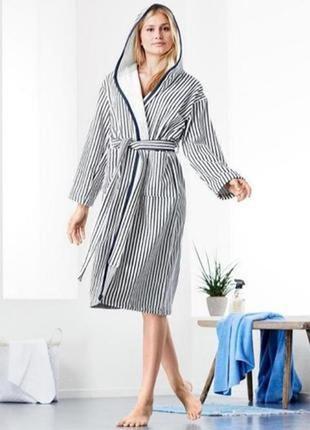Шикарный махровый халат tcm tchibo германия
