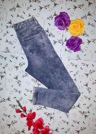 🎁1+1=3 узкие зауженные высокие плотные джинсы скинни с вышивкой george, размер 44 - 465 фото