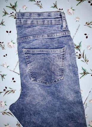 🎁1+1=3 узкие зауженные высокие плотные джинсы скинни с вышивкой george, размер 44 - 462 фото