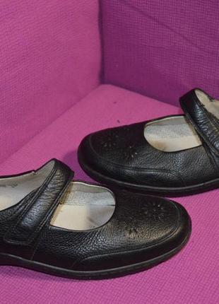 Мега комфортные кожаные туфли