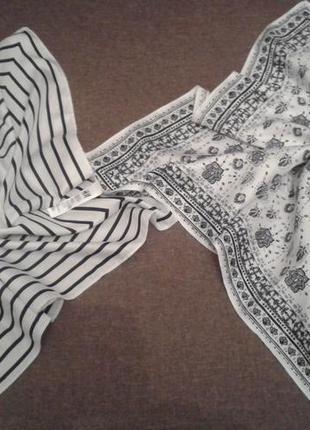 Скидка!!! платок 2шт. к-кт  шейный h&m хустина+300 платков шарфов на странице