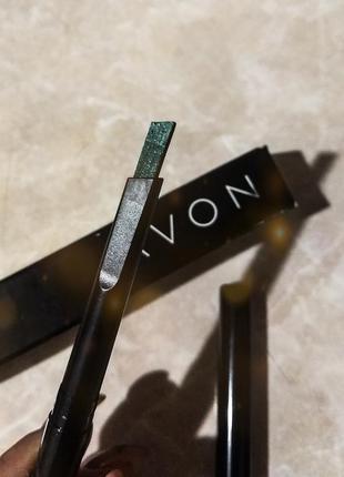 Олівець для очей зелений