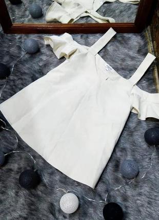 Топ блуза кофточка с вырезами на плечах