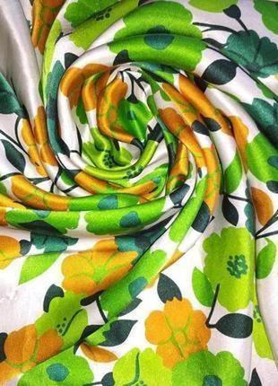 Jago яркий красочный шелковый платок