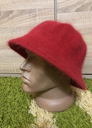 Шляпа ангоровая,маленький ангоровий капелюшок