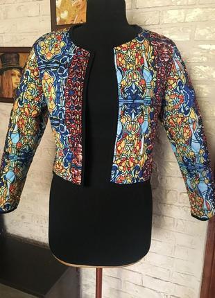 Пиджак блейзер стеганный