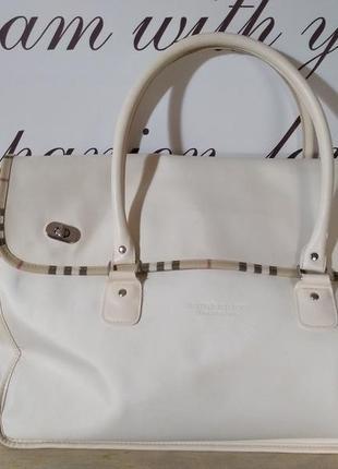 Розпродаж! очень красивая сумка burberry