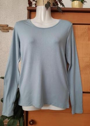 Лонгслив- футболка с длинным рукавом, интересный цвет