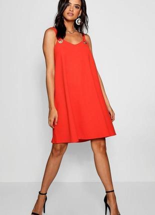 Brave soul london. это не сток! товар из англии. платье с кольцами. на наш размер 42/44.