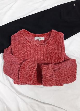 Велюровый свитер оверсайз oversize