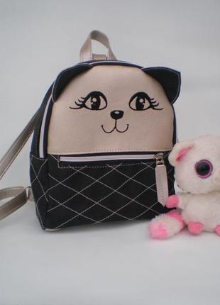 """Детский рюкзак """"кошечка"""" handmade"""
