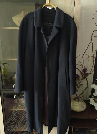Мужское пальто barisal,размер xl,70% шерсть,30% ангора.