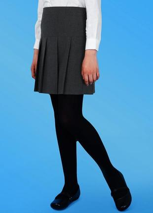 Школьная юбка bhs в складку, р.122 см #розвантажуюсь