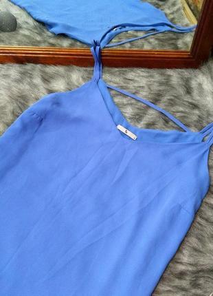 Топ блуза кофточка майка на бретелях tu2 фото