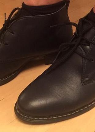 Женские ботинки кожа {утеплены} 39 рр