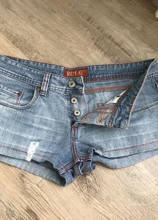 """Шорти джинсовые «replay"""""""