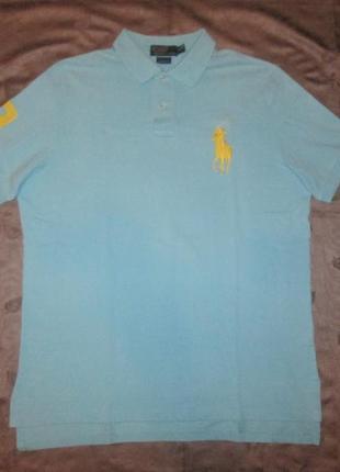 Polo by ralph lauren футболка поло оригинал