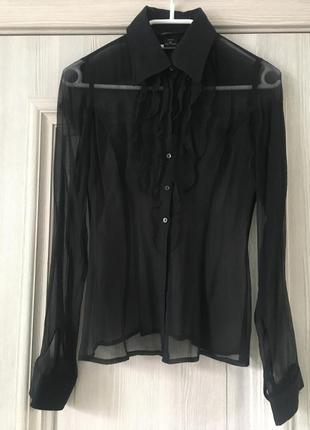 Шелковая рубашка victoria's secret