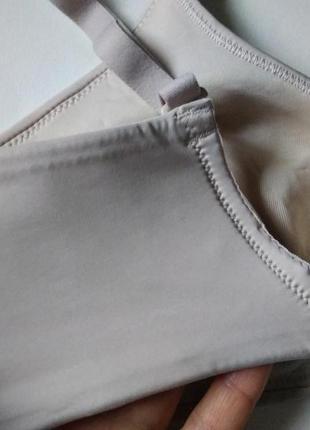 34в 75в - 70с m&s супер комфортный телесный бесшовный бюстгальтер минимайзер без косточек8 фото