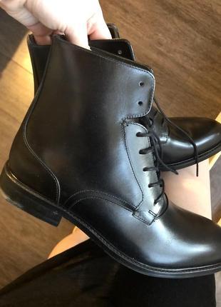 Люкс туфли navy boot!