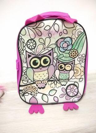 Детский рюкзак для девочки.