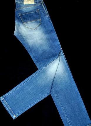 Джинсы xs-s новые италия paul martins голубые крутые модные женские