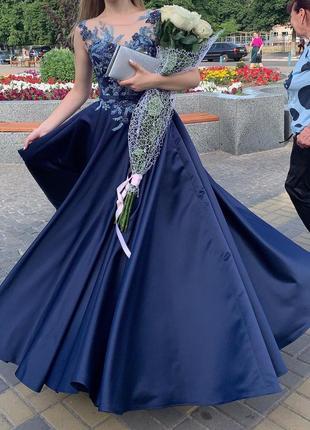 Выпускное/вечернее платье 2020.в подарок клатч!торг