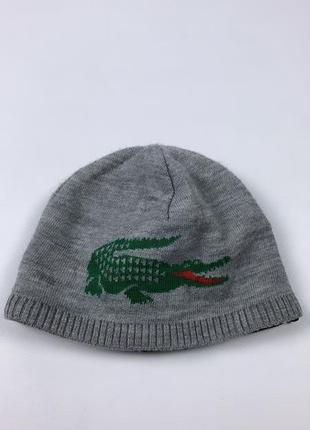 Lacoste wool hat мужская шапка