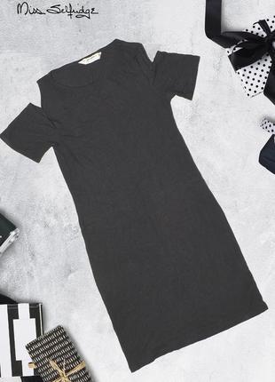 Платье по фигуре с открытыми плечами miss selfridge