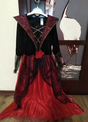 Карнавальный костюм на хеллоуин королева, фея