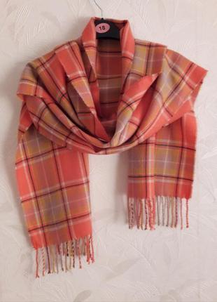 Теплый, нежный шарф, акрил, next
