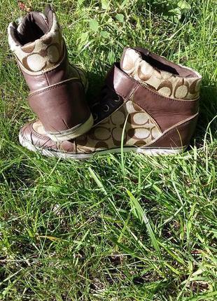 Сникерсы ботинки3 фото